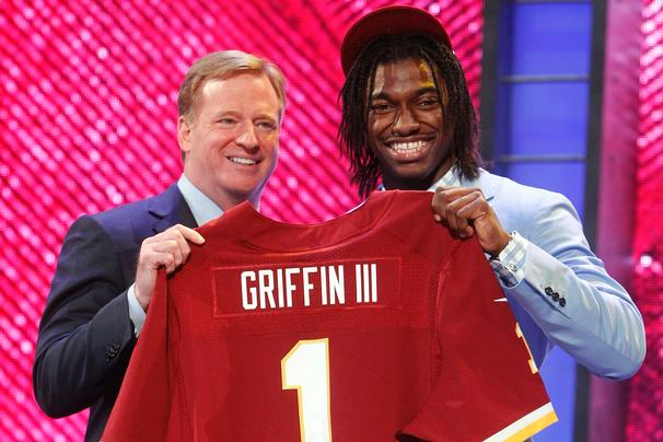 Robert Griffin, we hardly knew ye.