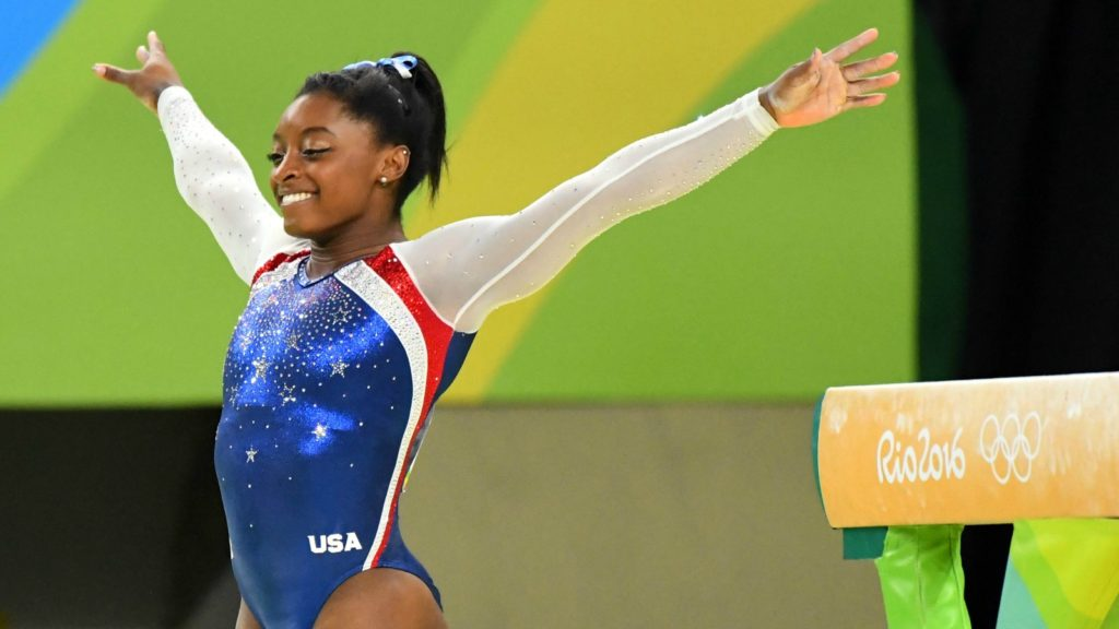 Simone Biles Made The World Believers. She's The G.O.A.T
