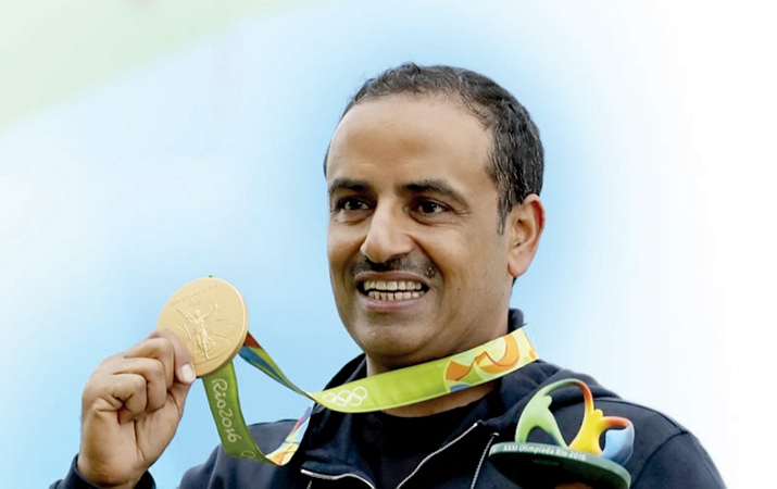 Al-Deehani became the first athlete to win gold under the IOA Banner.