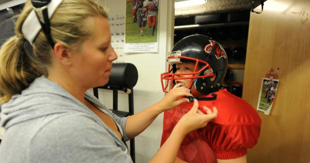 Ten Survival Tips for the Football Sports Mom