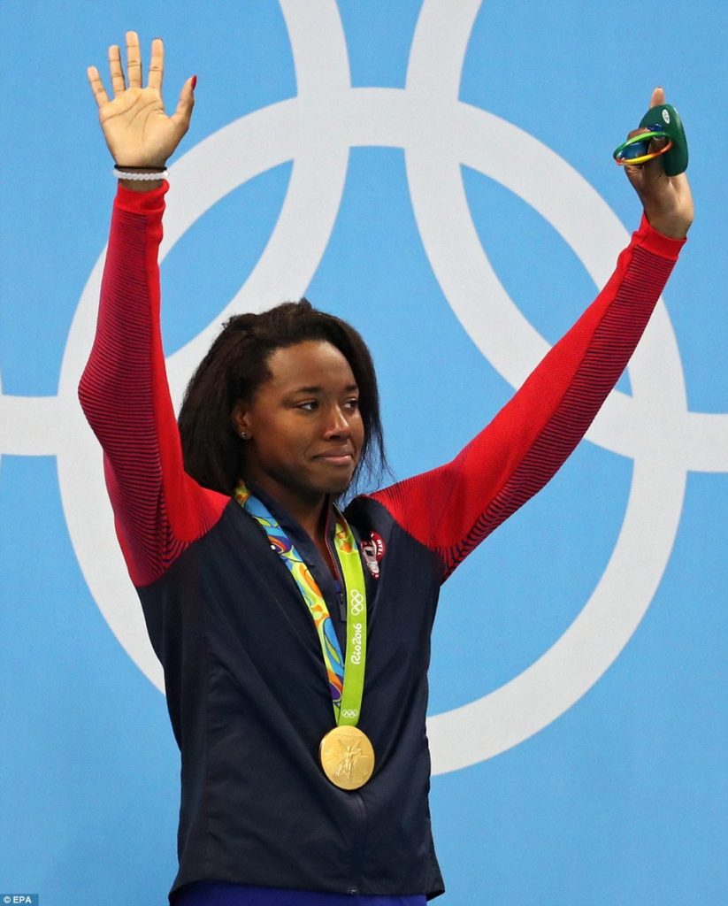 Manuel Makes History as First African-American women to win individual gold.