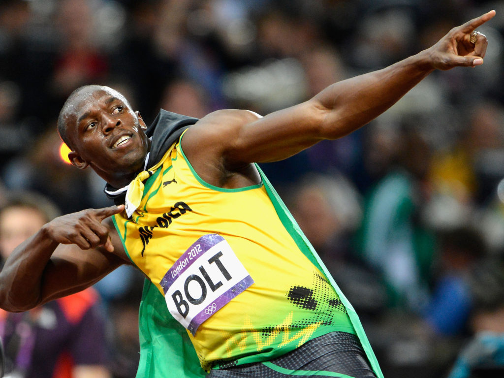 Bolt Strolls Into Rio With Injury, But Always Confident