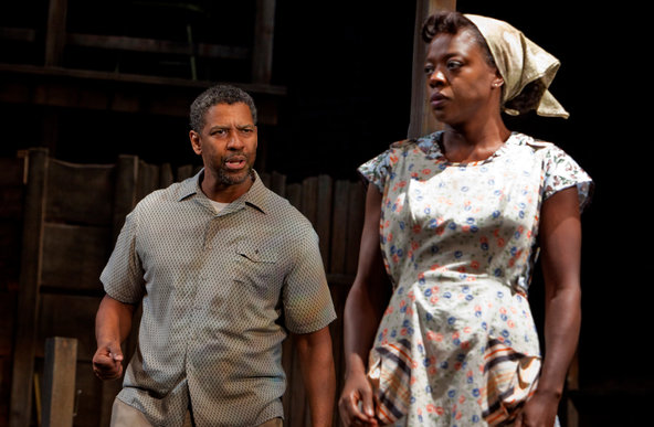 "Denzel Washington and Viola Davis Shine in ""Fences"""
