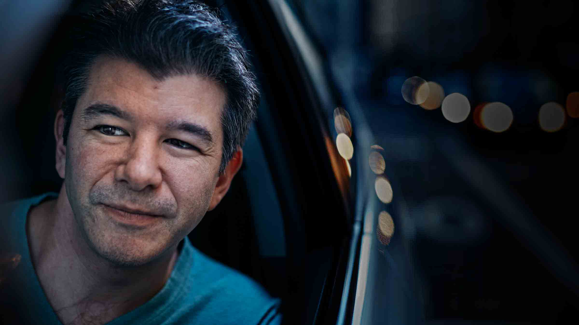 Uber Drops Off Travis Kalanick
