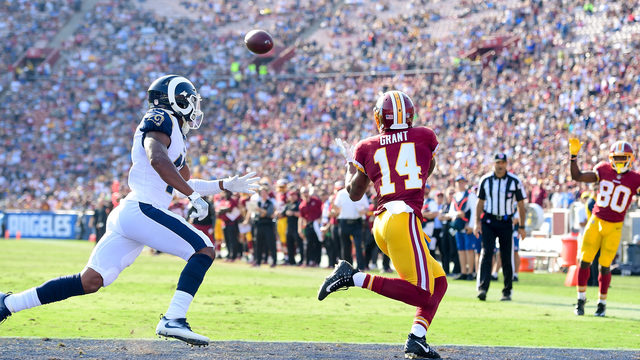 Redskins Win First Game of Season vs Rams