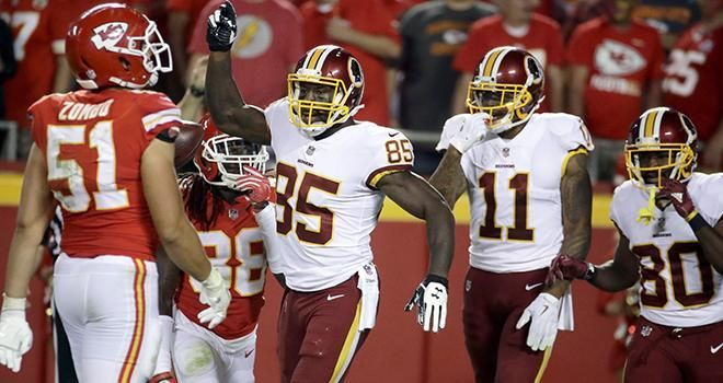 Skins Miss Opportunity, Lose to Kansas City