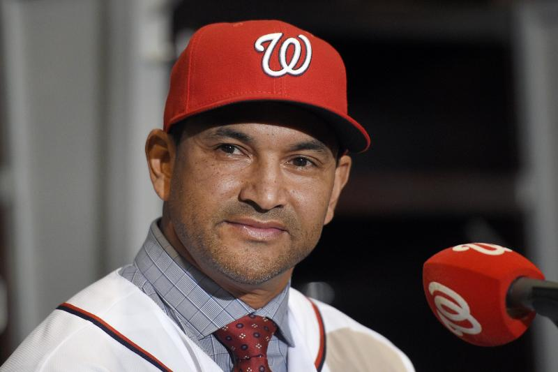 Challenges await for New Nationals Manager Dave Martinez