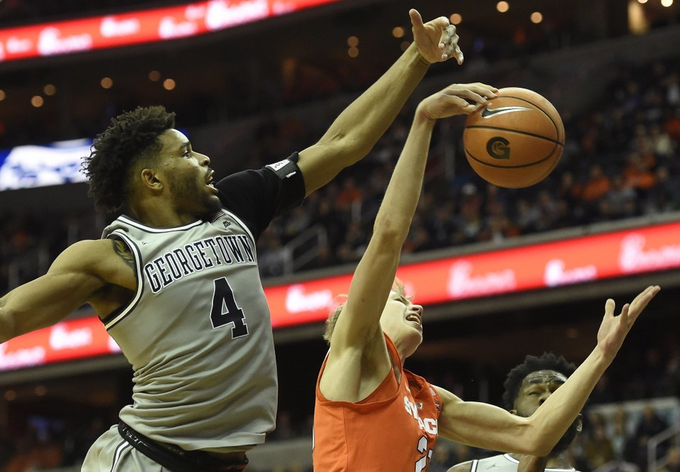 Hoyas Let Game Slip Away Late, Lose To Hated Syracuse