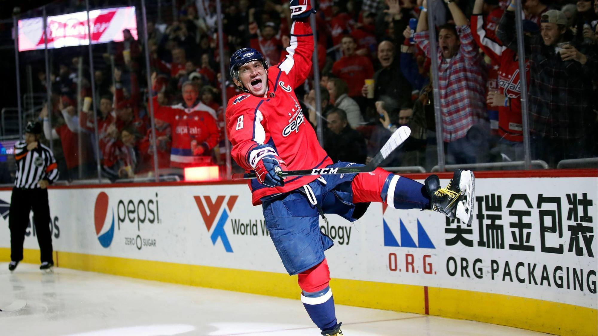 Alexander Ovechkin Notches 600th Career Goal